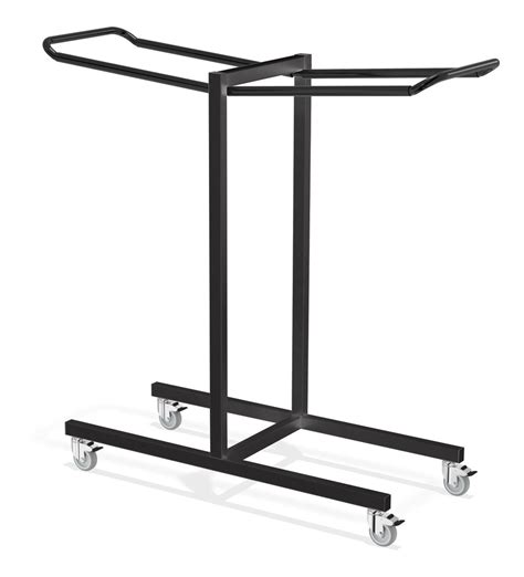 storage for folding chairs and tables black color iron folding chair storage rack with wheels