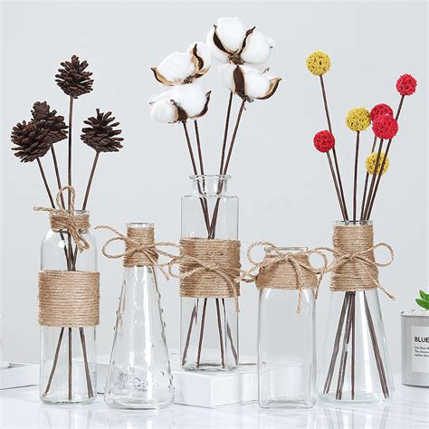 Table Vase by Creative Nordic Glass Vases Living Room Table Decoration