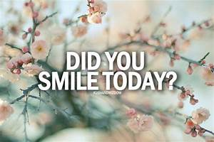 Smile Floral Smiling Kushandwizdom Positive Quotes