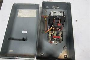 Square D 8536 Motor Starter 480v Coil Nema Size 3 W