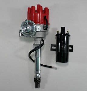 chevy small big block small cap hei distributor black 45k coil ebay