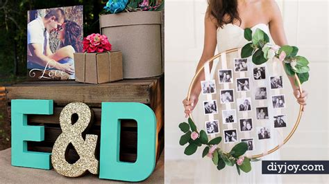diy wedding decor ideas   bride   budget