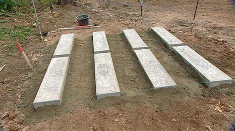 Fundament Geräteschuppen Holz by 17 Fundamente