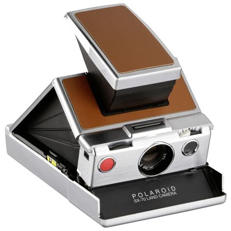 Polaroid Sx 70 Polaroid Sx 70 Silver Refurbished