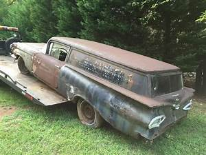 Rare  U0026 Rusty  1959 Chevrolet Sedan Delivery