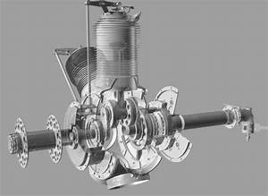 Gnome Gamma Rotary Engine