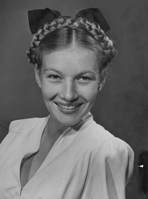 1940s Braided Hairstyles by Our Favorite Braids Lake 1941 Getty