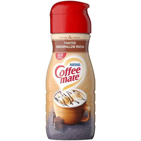 You won't go back to real dairy! COFFEE MATE Non-Dairy Coffee Creamer, Toasted Marshmallow ...
