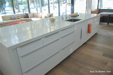 Stay At Homeista Ikea Kitchen Reveal Modern Vacation House