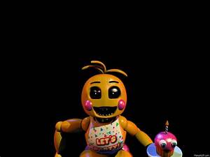 FNaF 2 Toy Chica Jumpscare by crueldude100 | fnaf ...
