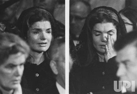 Jacqueline Kennedy Onassis breaks into tears during ...
