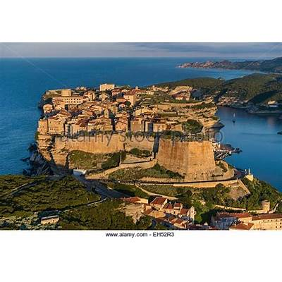 Bonifacio Aerial Stock Photos &