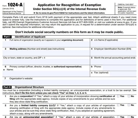 irs form 1024 world of exle