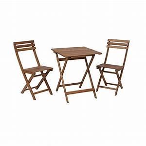 Balkon Tisch Stühle : greemotion balkonset borkum balkonm bel set aus holz klappbar bistro set 3 teilig ~ Sanjose-hotels-ca.com Haus und Dekorationen