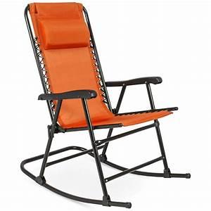 Folding, Rocking, Chair, Foldable, Rocker, Outdoor, Patio, Furniture, Red, -, Walmart, Com