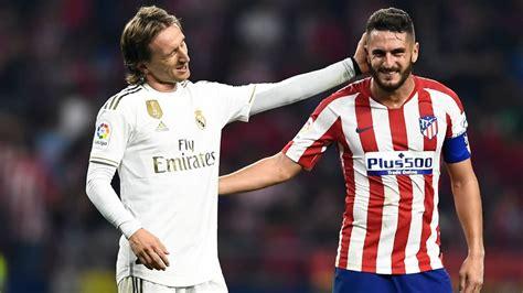 Real Madrid Vs Atlético Madrid / Real Madrid Vs Atletico ...