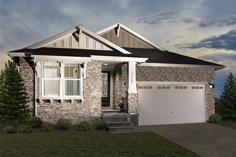 New Homes For Sale At Trailside Patio Homes In Thornton
