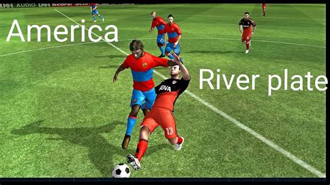 Dream League Soccer/América vs River Plate - YouTube