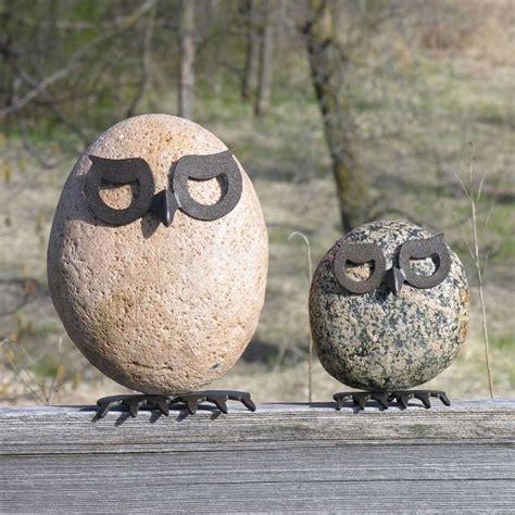Gartendeko Aus Metall by Fantasievolle Gartendeko Tiere Aus Metall Und Stein