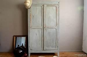 Armoire Parisienne Vintage : armoire parisienne icare l 39 atelier belle lurette ~ Teatrodelosmanantiales.com Idées de Décoration
