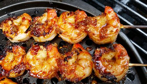grilling shrimp lemongrass and sriracha grilled shrimp recipe dishmaps