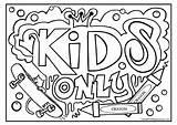 Graffiti Coloring Printable Crayola Grafitti Cool Sheets Teenagers Adult Graffitis Draw Popular Colorear Mandala Letter Crooked Coloringhome sketch template