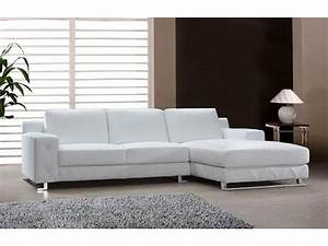 modern sectional sofa in white leather s3net sectional With white sectional sofa