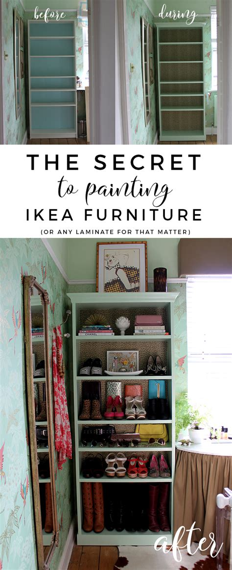 Can You Paint Ikea Furniture by The Secret To Painting Ikea Furniture Swoon Worthy