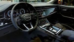 Audi Q8 Interieur : essai audi q8 le suv bard de technos qui pourrait d j rouler seul sur autoroute ~ Medecine-chirurgie-esthetiques.com Avis de Voitures