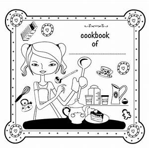 the gallery for gt kids cookbook cover template With kids cookbook template
