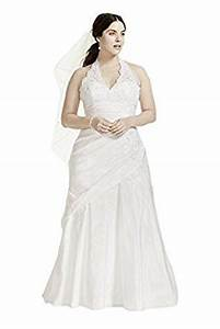 taffeta lace halter a line plus size wedding dress style With amazon prime wedding dresses