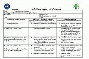 sample job safety analysis form sample job analysis 6 With job hazard assessment template