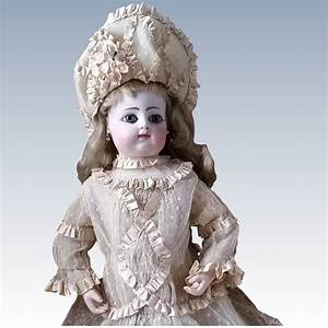 Very Beautiful French Bebe Costume With Bonnet Pretty