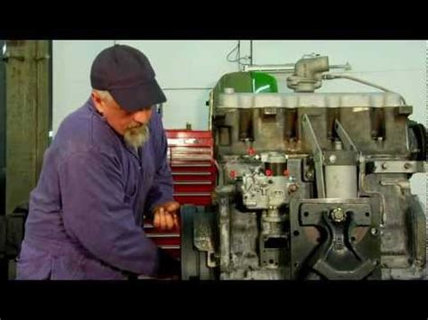 installing a diesel injection setting the timing
