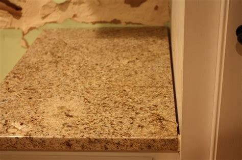 granite countertop gaps poor install