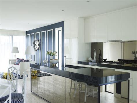 Mirrored Kitchen Cabinets by Designing Mirrored Kitchen Islands