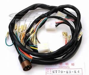 Wiring Harness  Ct70 K3  U2013 K4  U0026 1976 Chp