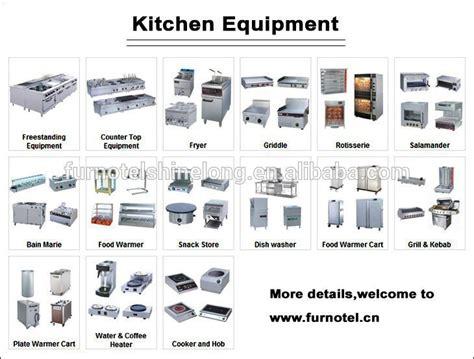 Kitchen Equipment Names by Kitchen Utensils List For Restaurant Kitchen Utensils