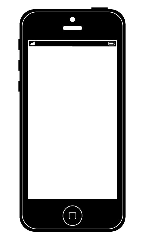 bradhallart blog   draw  iphone  vector graphic