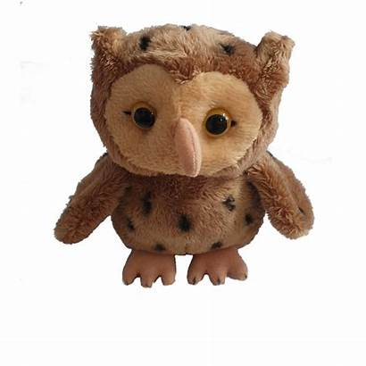 Owl Toy Soft Guide Scout Brownie Resin