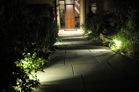 led bollard lights improve visibility and add style with