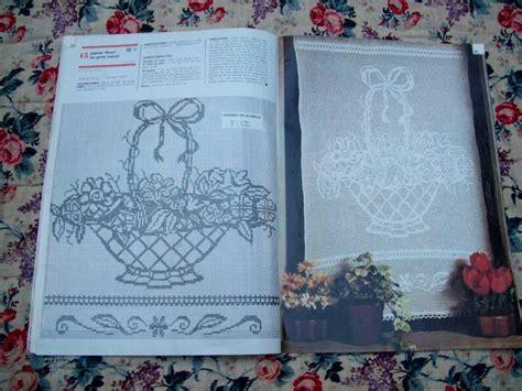le crochet d revue ancienne speciale rideaux le de tissus anciens
