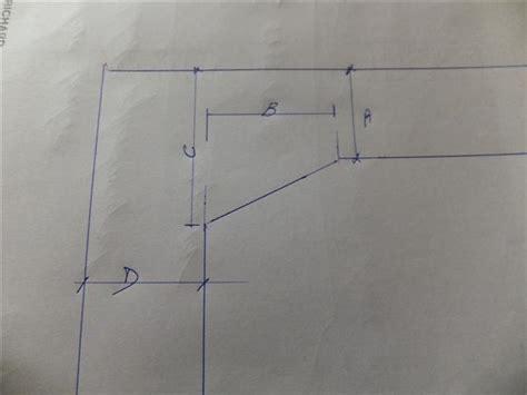 plan de travail angle cuisine disposition carrelage plan de travail sur meuble d 39 angle