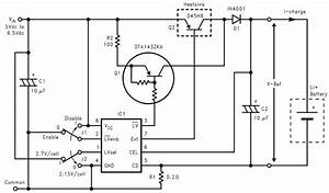 Lithium Ion Charger Circuit Design Electronic Project