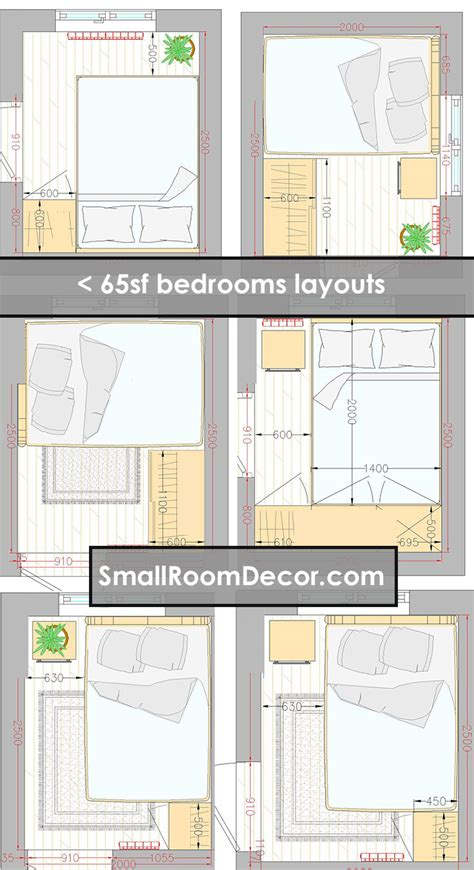 standart   extreme small bedroom layout ideas