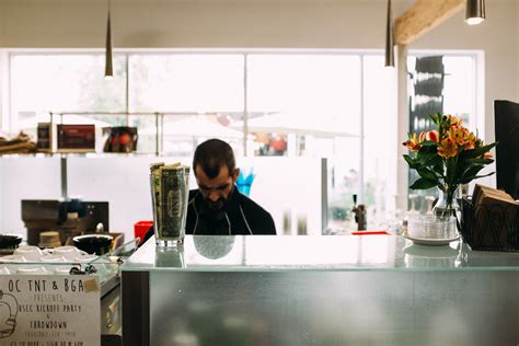 Portola coffee lab is about specialty coffee. Portola Coffee Lab in Los Angeles, CA