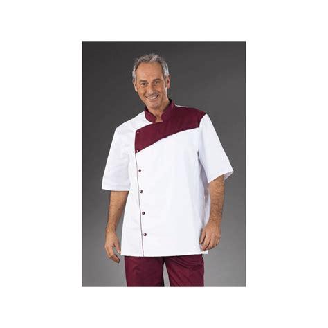 veste cuisine homme personnalisé veste de cuisine professionnel homme blanc finition