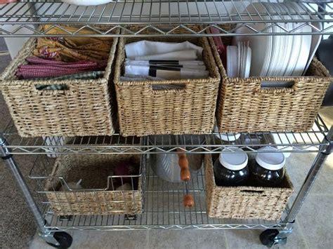Small kitchen no pantry solutions. No Pantry? No Problem. | Kitchen pantry design, Kitchen organization pantry, Pantry design
