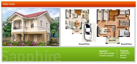 maia alta model house camella homes  trusted brand