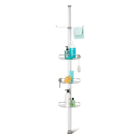 Simplehuman Tension Shower Caddy by Simplehuman 174 Vertical Tension Shower Caddy Frontgate